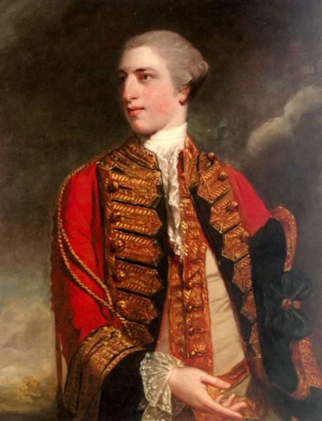 Reynolds Sir Joshua Portrait Of Charles Fitzroy